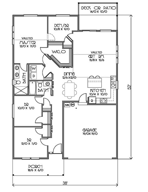 1500 sq ft ranch house plans ranch style house plan 4 beds 2 00 baths 1500 sq ft plan
