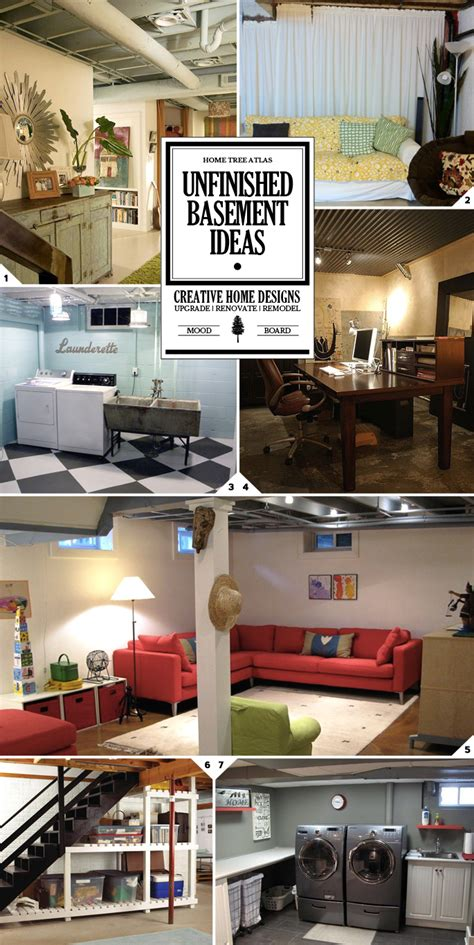 what to do with an unfinished basement unfinished basement ideas for the space look and
