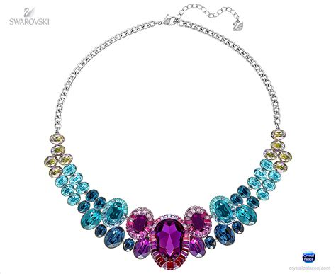 swarovski jewelry 5189757 swarovski jewelry eminence medium necklace