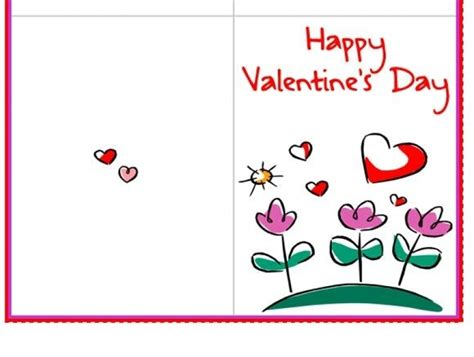 valentines day cards to make and print printable cards for teachers designcorner