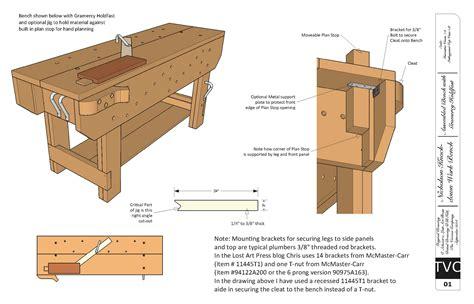 free downloadable woodworking plans kd nicholson bench lost press jpg