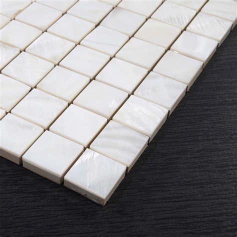 shell tile backsplash shell tiles kitchen backsplash tile fresh water seashell