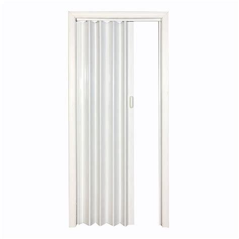 plastic closet doors spectrum vs4880h 4 1 4 in x 80 in white vinyl folding