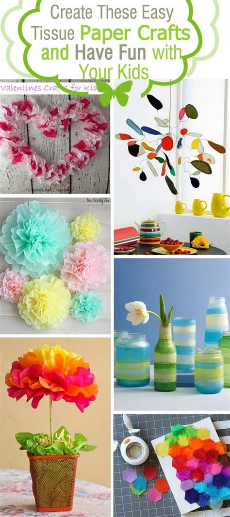 crafts to do with tissue paper create these easy tissue paper crafts and with