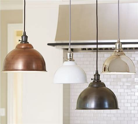 copper pendant lights kitchen pb classic pendant metal bell copper finish industrial