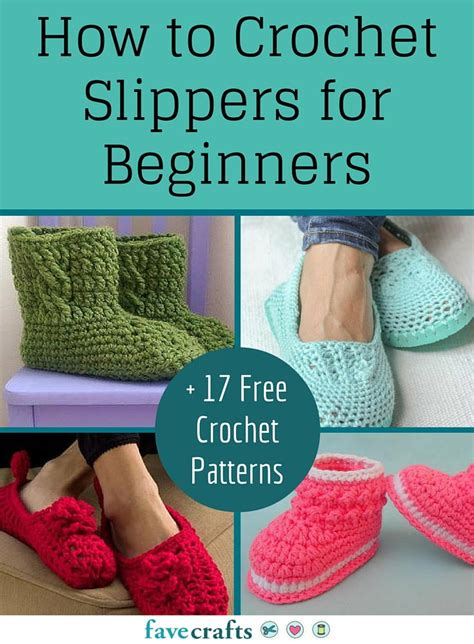 how to knit a crochet how to crochet slippers for beginners 17 free crochet