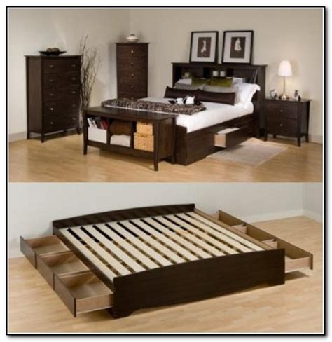 king size bed frame with storage diy king size storage bed beds home design ideas