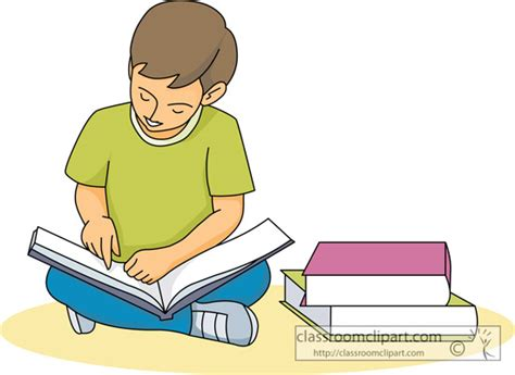 pictures of students reading books reading student reading book 227 03 classroom clipart