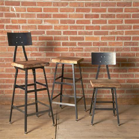 Custom Wood Bar Stools buy a custom reclaimed wood bar stool made to order from