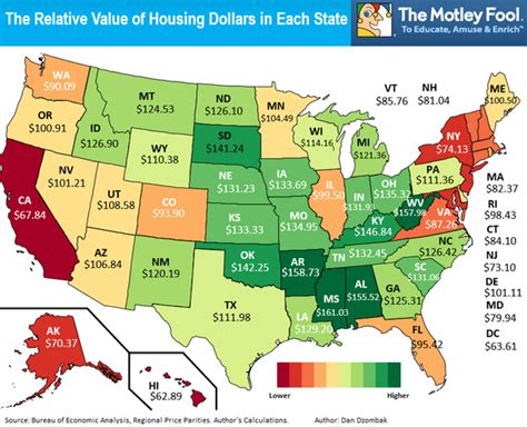 the cheapest states to live in most expensive cities to live in usa