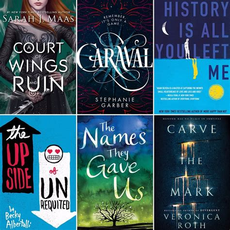 most recommended best ya books of 2017 popsugar