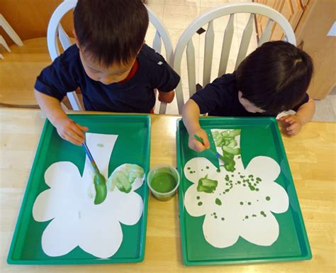 green crafts for magic fizzing shamrocks st s day activities