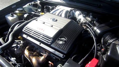 2002 toyota avalon sage green stock 5123a engine youtube