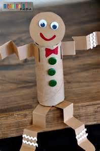 recycled toilet paper roll crafts my toilet paper roll gingerbread craft is yet another