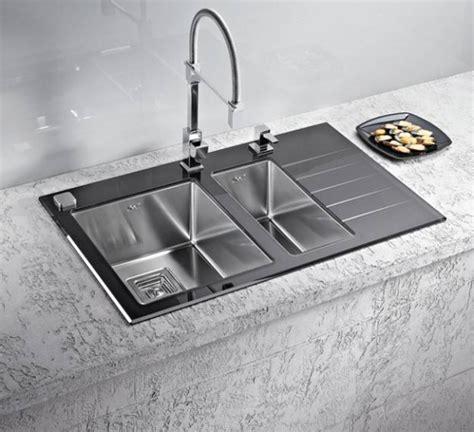 kitchen sinks and faucets designs lavelli da cucina attrezzati