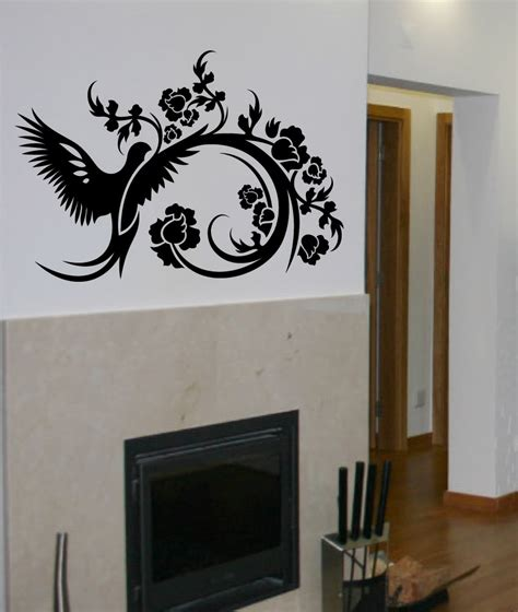 wall deco stickers decals by digiflare wall decal big topiary tree deco