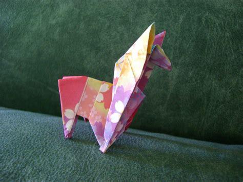 origami llama rainbow llama origami by shroomsfromhell on deviantart