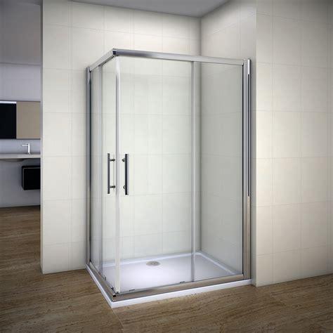 corner entry shower doors 1850mm sliding shower enclosure 6mm glass corner