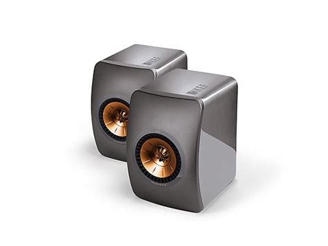 kef ls50 special edition color titanium open reverb