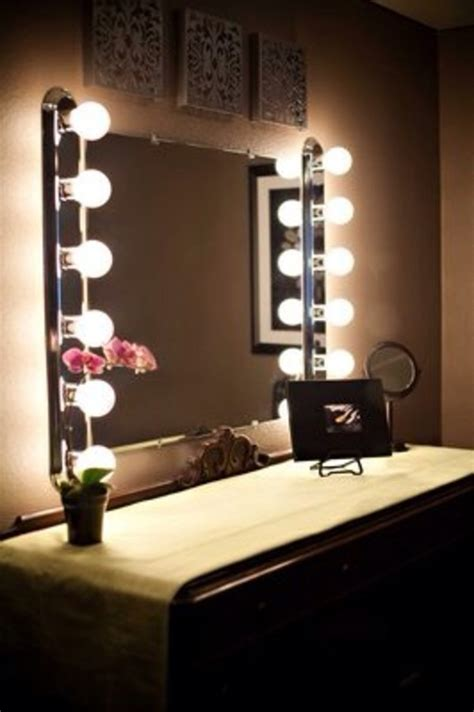 bedroom mirrors with lights vanity mirrors with lights to make by your selves
