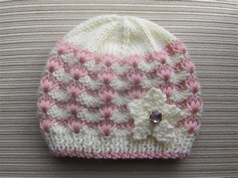 knitted baby hat patterns baby hat knitting patterns needles my crochet