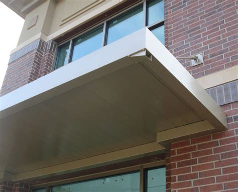 Metal Canopy by Commercial Metal Awnings Canopies Canopy Replacement