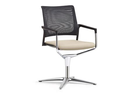 swivel chair with backrest mera conference swivel chair with mesh backrest by kl 246 ber