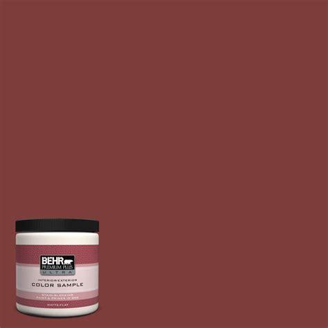 behr ultra paint colors interior behr premium plus ultra 8 oz ul110 2 cinnabar
