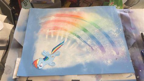 spray paint rainbow rainbow dash spray paint by link408zelda on deviantart
