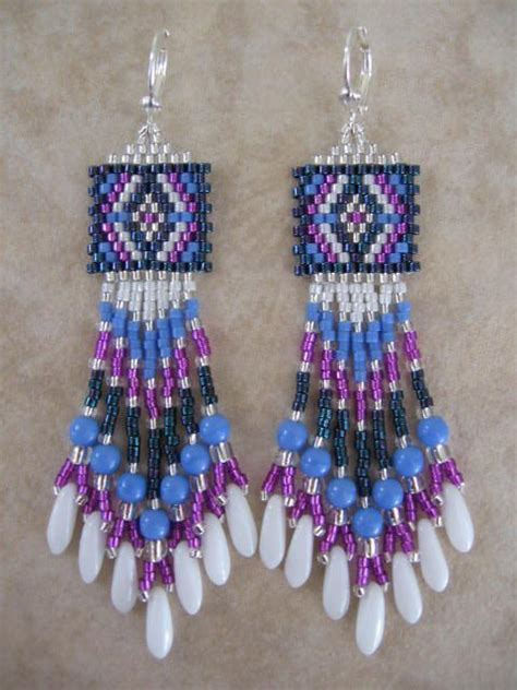 seed bead earrings free patterns free seed bead earring patterns awesome jewelry