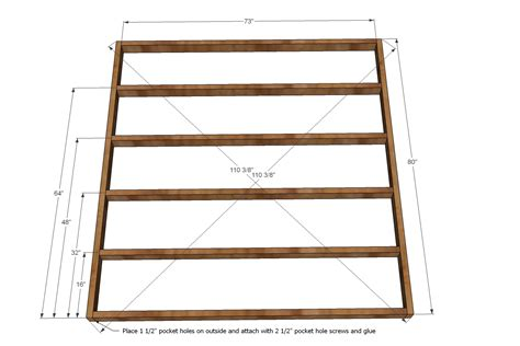 how to make a king bed frame bed how to make a king size bed frame home interior design