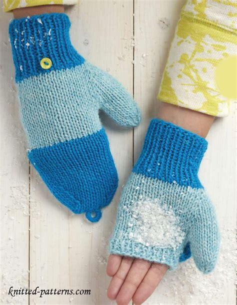 mitten pattern knit knitting mittens pattern free