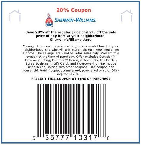 sherwin williams paint store coupons sherwin williams coupon 30