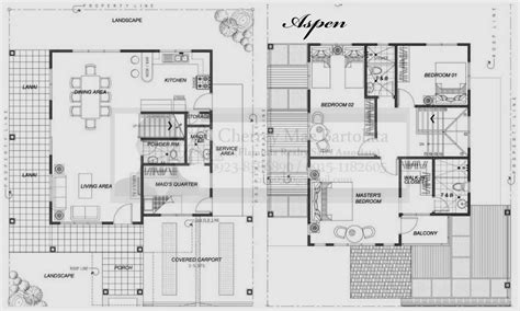 two storey residential building floor plan two storey residential building floor plan modern 2 story