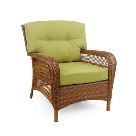 patio furniture cushions home depot martha stewart living charlottetown brown all weather