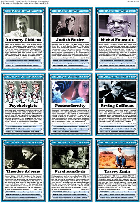 trading card theory org uk trading cards