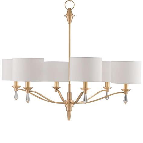 brushed gold chandelier modern classic brushed gold finial 6 light