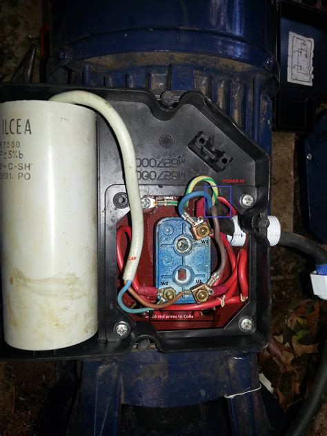 Moto 220v by Ac Correct Wiring Of 1 Phase 220v Electrical Motor