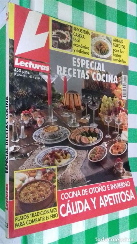 recetas de cocina revista lecturas revista lecturas especial recetas cocina n 186 1 comprar