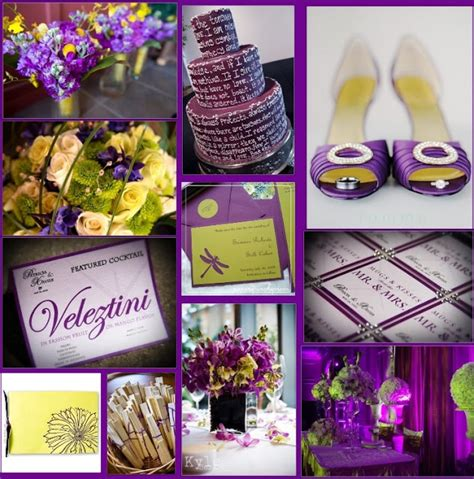 purple and yellow wedding centerpieces wedding by designs purple and sparkling yellow wedding ideas