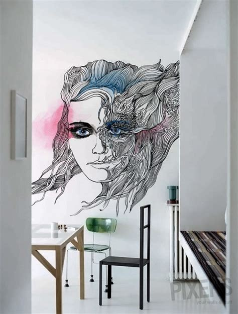 pixers wall murals phantasmagories wall murals by pixers alldaychic