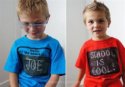 diy chalkboard t shirt chalkboard t shirts the crafting