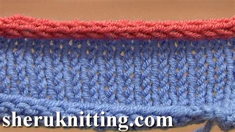 i cord knitting how to knit i cord bind tutorial 7 method 12 of 12