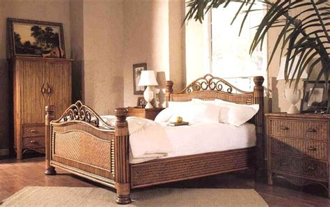 rattan wicker bedroom furniture the 19 best images about rattan and wicker complete beds