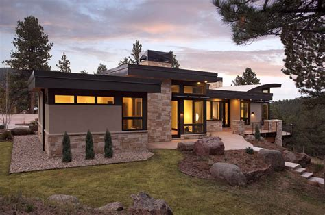 Pueblo Style Ranch Home landscape integration contemporary homes mosaic