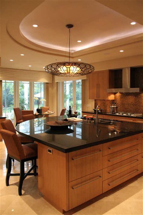 kitchen soffit design curved kitchen island and soffit contemporary kitchen