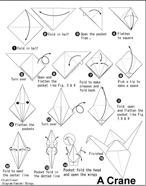 how to build an origami crane how to fold an origami crane