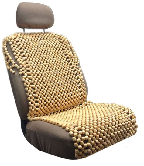car wooden bead seat cushion wooden bead seat cushion cover wood beaded