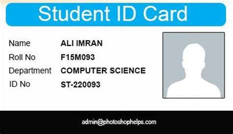 how to make student id cards 15 best images about id card design on