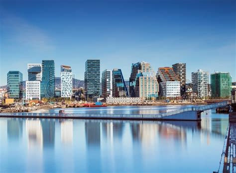 New Home Plans And Prices oslo barcode bj 248 rvika in norway stock photo colourbox